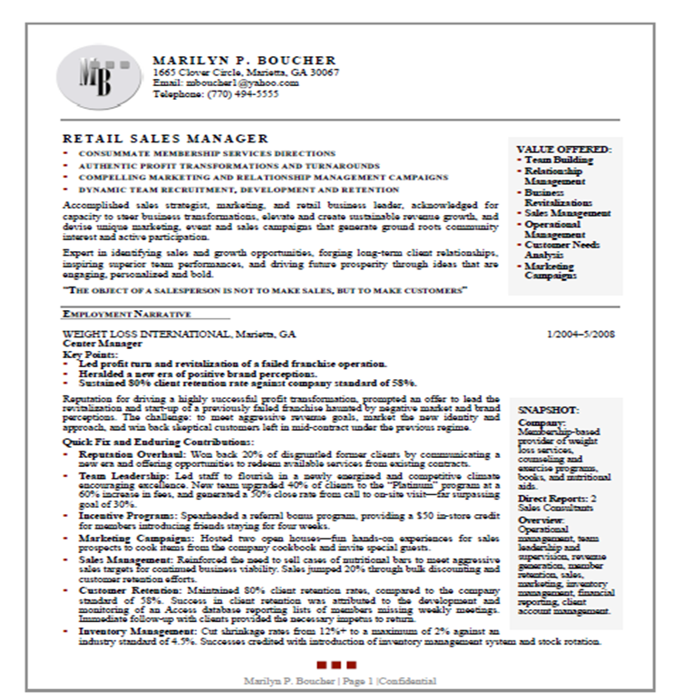 world best resumes - Best Resumes